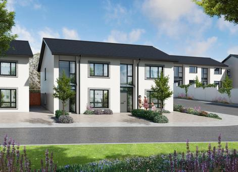 An artist's impression of the Hamilton Hill homes
