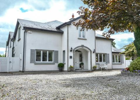 Willows Lodge near Thurles has five bedrooms and extends to 3,154 sq ft over two floors