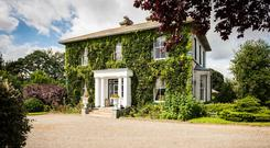 Blackhall House sits on 18.25ac of land