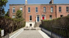 Most of the ornate Victorian period components at 79 Ranelagh Road have remained intact