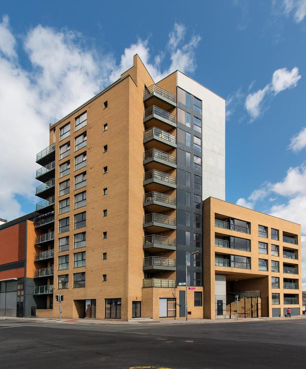 All the apartments in the first phase are situated in the tower block
