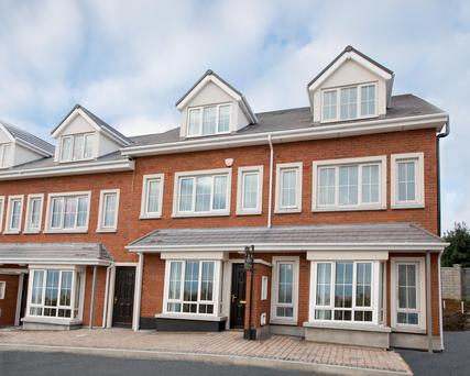 There are three house types for sale at Croftwell in Co Dublin