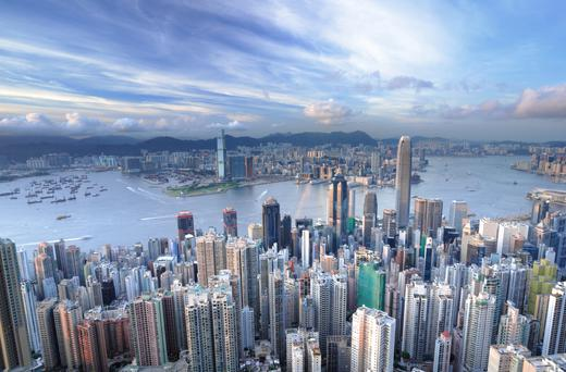 Hong Kong has a population of 7.4 million people. It also has some of the most expensive real estate in the world, coming in just behind New York.