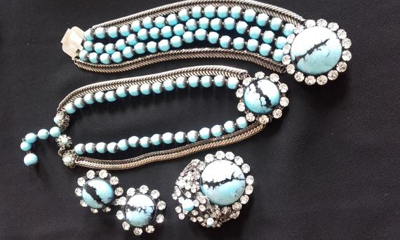 Miriam Haskell set from Strictly Vintage
