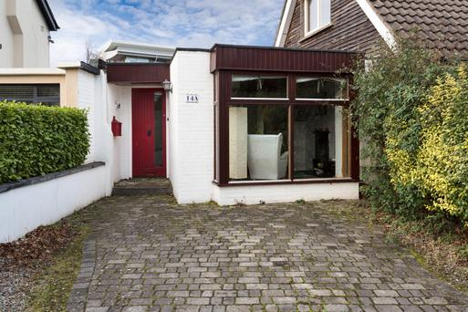 The bungalow at 14A Airfield Park in Donnybrook is 667 sq ft and has two bedrooms
