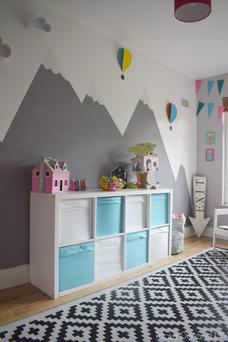Linda Duffy's mountain playroom, Make, Do and DIY blog (www.makedoanddiy.com)