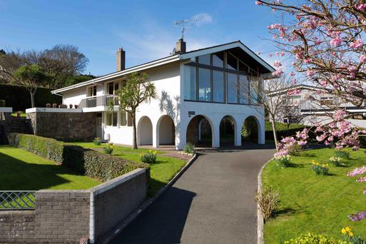 The reception rooms at 2 Knocknacree Grove are on the first floor to maximise the views