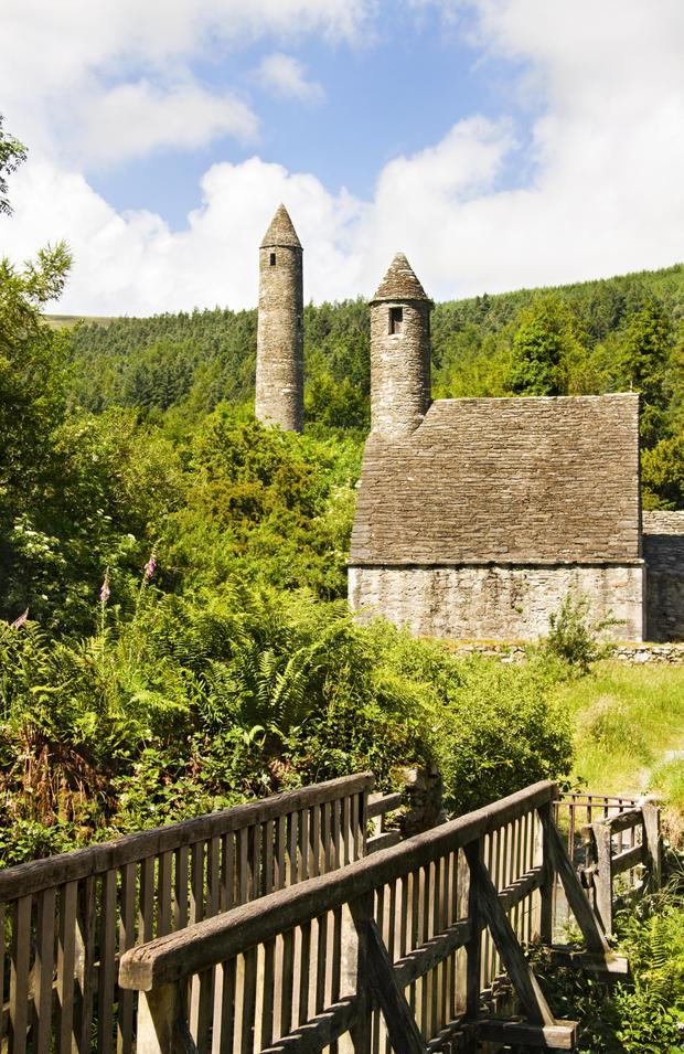 Glendalough is nearby