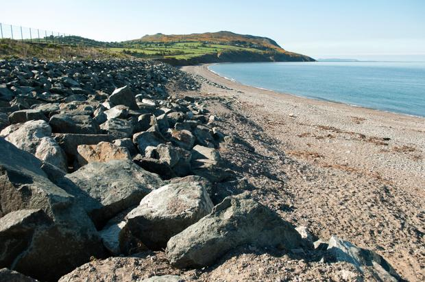 The coastline at Greystones