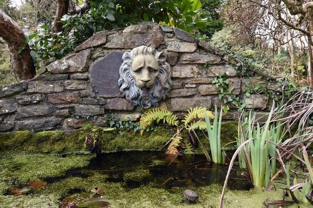The garden was designed by celebrated Cork gardener Nancy Minchin and includes a fountain