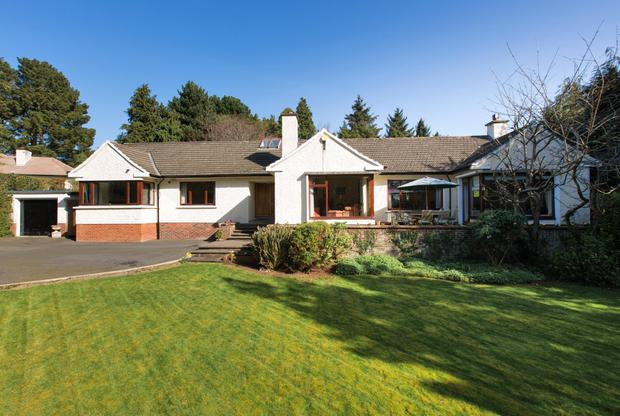 Noel Lodge is a sprawling house with 2,379 sq ft of floor space set on just under an acre