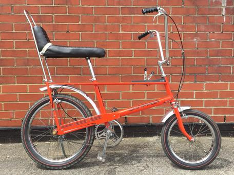 A fully restored red Raleigh Chopper could be worth €1,000