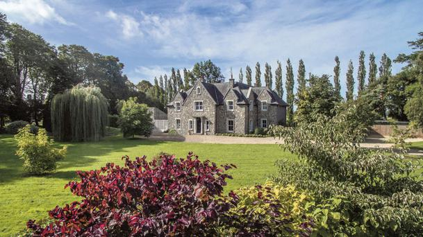Despite having many characteristics of a Victorian-era home, Forgefield House was built in 2006