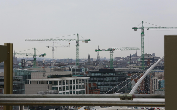 Ireland's growing population and net immigration mean that an additional 40,000 to 50,000 new homes per year will be needed