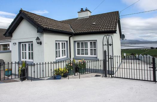 A two-bed cottage, Cuan an Aoibhnis is situated just outside Ring village, Co Waterford