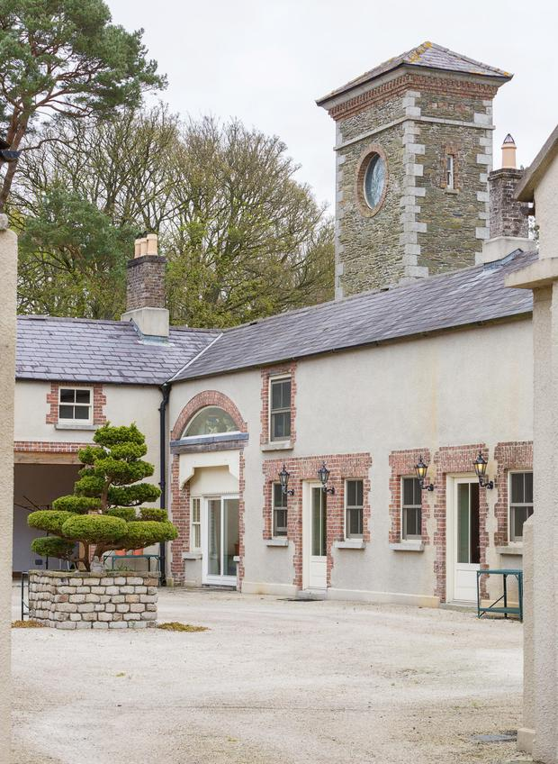 New residential accommodation incorporates the old stable yard tower