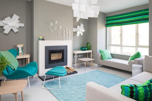 The interiors of the showhouses were styled by Designer of the Year 2015 Michelle Hetherington