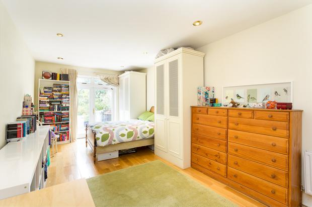 One of the double bedrooms