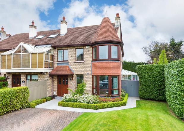 72 Shrewsbury is a four-bed semi for sale for €895,000