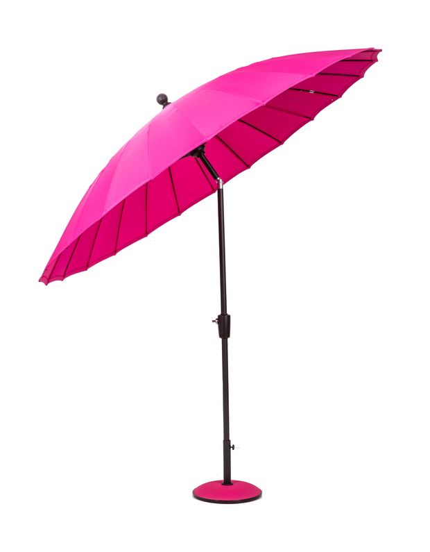 Parasol, €220 - A parasol is a godsend for Ireland's unpredictable summer days. Geisha 2.7m parasol; debenhams.ie