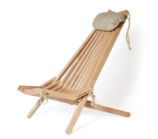 Sun lounger, €195 - A standout furniture piece like this sun lounger will really let you soak up some rays or read a good book. Helsinki chair in oak, meadowsandbyrne.com