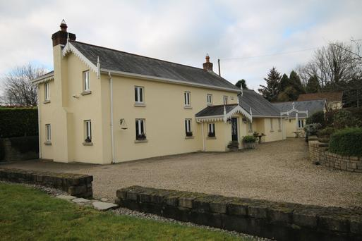 There's a detached office on the grounds of Primrose Cottage near Kilcullen, Co Kildare