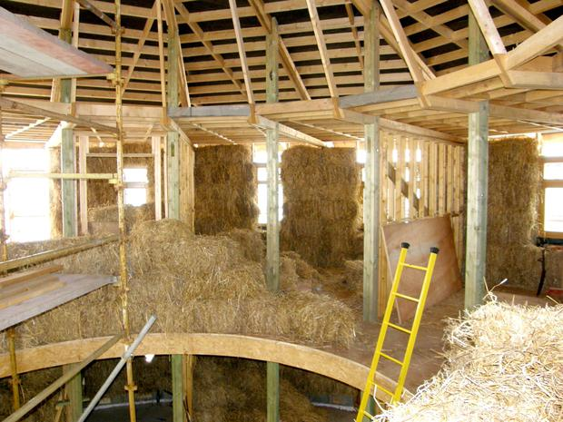 Straw House Construction