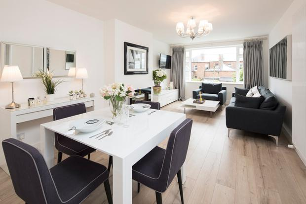 Come dine with me: This D3 dining room is now bright and inviting