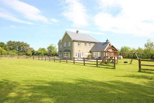 Woodenbridge was built in 2008 and comes with 4.5 acres