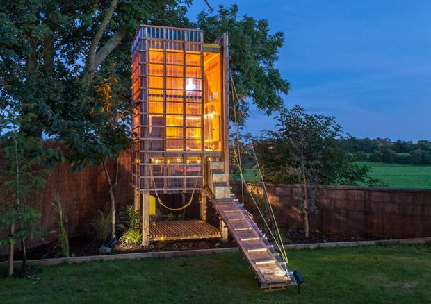 The Child's Play Tower treehouse by Neil Kane