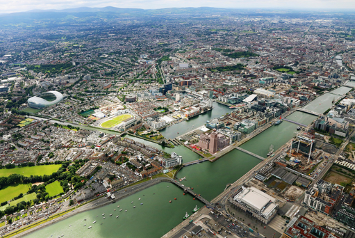 Builders were attracted to Dublin's docklands by the presence of tax reliefs