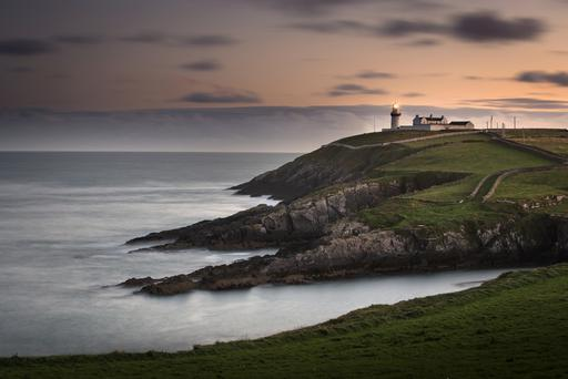 Galley Head, Clonakilty, Co Cork, where you can rent lightkeeper's houses