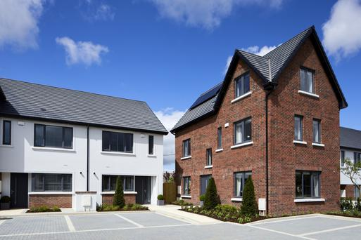 A selection of the homes available at Muileann in Kinsealy, north Dublin.