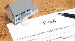 Where is a safe place to keep your title deeds?