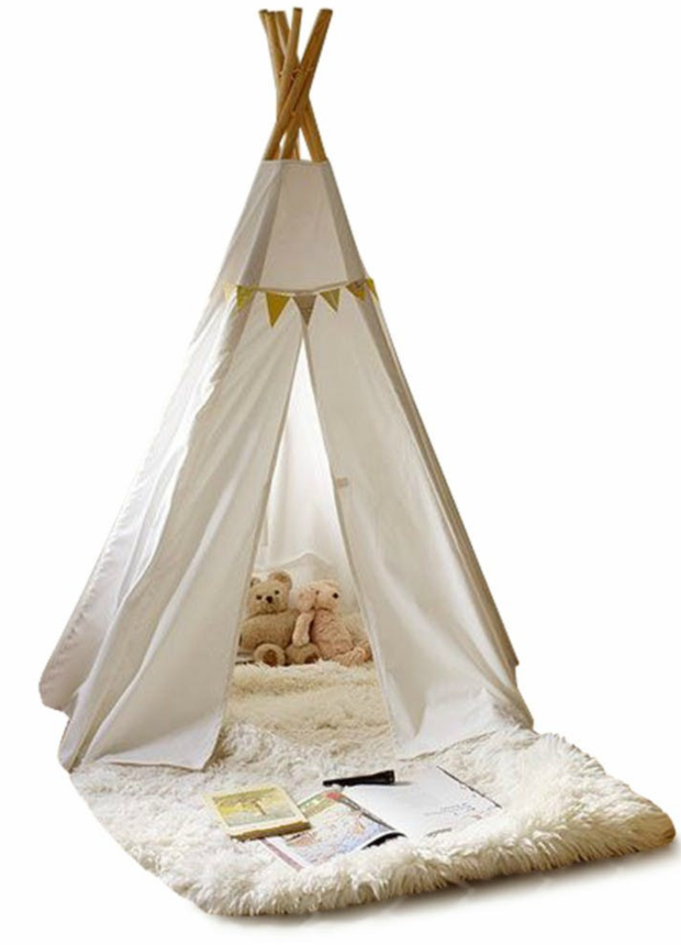 Cherokee teepee, €99. A teepee creates a chill-out area and adds a fun element to the space; harveynorman.ie