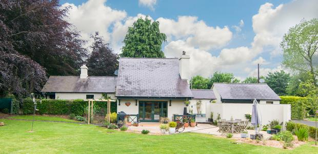 Kilrainy Cottage has been extended and refurbished inside and out