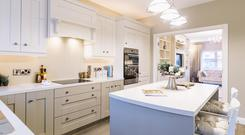 The fitted kitchens in Rahillion, Donabate are by Curtis Kitchens, Navan