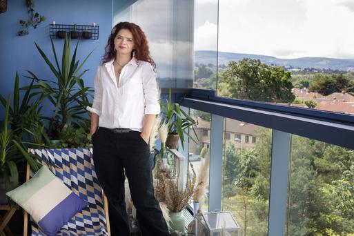 Diana Valentine: 'Think outside the box for ways to add personality and colour'. Photo: Tony Gavin