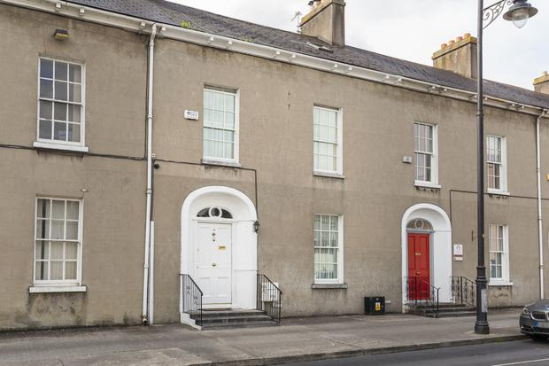 Number 5 Dr Croke Place is in a terrace of 10 houses