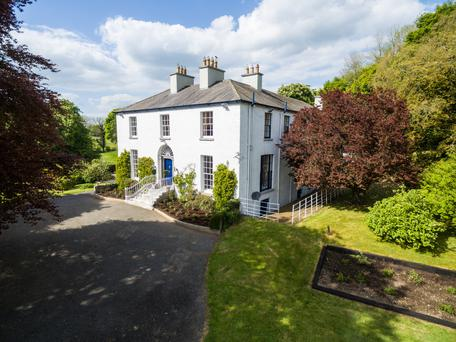 The period property sits on over 52 acres