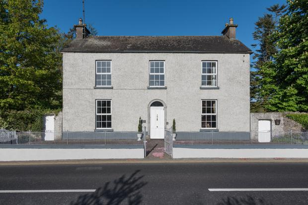 Glasson House sits on a large site on village's main street
