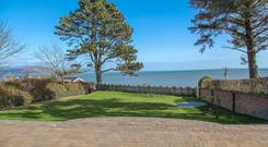 Dunard has magnificent views of the Irish Sea and Cooley Mountains