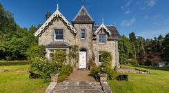 Annaly Lodge was built in the 1850s and has been restored, extended and modernised. It comes with 22 acres of woodland