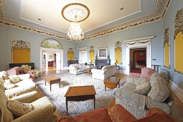 Inside this classical Kildare mansion with two bars and 17 bedrooms ... b47584e23ed8c