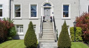 37 Mount Merrion has a large back garden and planning permission to extend.