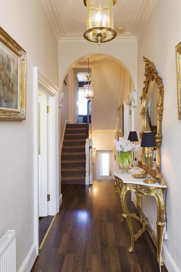 The hallway at 37 Mount Merrion Avenue