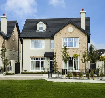 The exterior of the Teal house style at Rokeby in Lucan