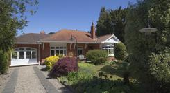 The period bungalow stretches to 2,152 sq ft;