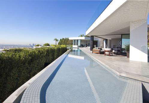 Mega-mansion The One in Bel Air, designed by Paul McClean, runs to 9,662sqm and has a $500m price tag