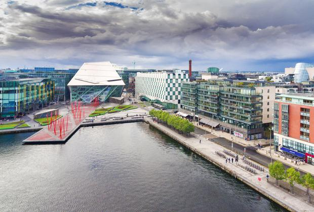 View to the Bord Gáis Energy Theatre